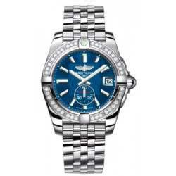 Breitling Galactic 36 (Polished Steel/ Diamonds) Caliber 37 Automatic A3733053.C824.376A