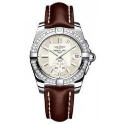 Breitling Galactic 36 (Polished Steel/ Diamonds) Caliber 37 Automatic A3733053.G706.416X