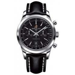 Breitling Transocean Chronograph 38 Caliber 41 Automatic A4131012BC06428X