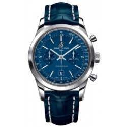 Breitling Transocean Chronograph 38 Caliber 41 Automatic A4131012C862718P