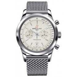 Breitling Transocean Chronograph 38 Caliber 41 Automatic A4131012.G757.149A