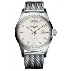 Breitling Transocean Day Date Caliber 45 Automatic A4531012.G751.154A