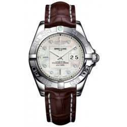 Breitling Galactic 41 (Steel) Caliber 49 Automatic A49350L2.A702.724P