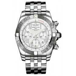 Breitling Chronomat 44 (Polished & Satin) Caliber 01 Automatic Chronograph AB011011.A690.375A