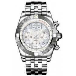 Breitling Chronomat 44 (Polished & Satin) Caliber 01 Automatic Chronograph AB011011.A691.375A