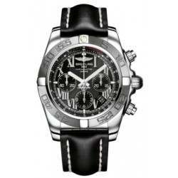 Breitling Chronomat 44 (Polished & Satin) Caliber 01 Automatic Chronograph AB011011.B956.435X