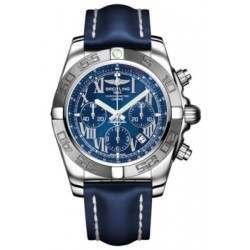 Breitling Chronomat 44 (Polished & Satin) Caliber 01 Automatic Chronograph AB011011.C783.105X