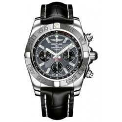 Breitling Chronomat 44 (Polished & Satin) Caliber 01 Automatic Chronograph AB011011.F546.743P