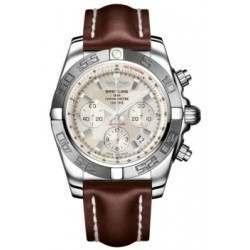 Breitling Chronomat 44 (Polished & Satin) Caliber 01 Automatic Chronograph AB011011.G684.437X