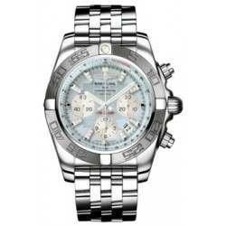 Breitling Chronomat 44 (Polished & Satin) Caliber 01 Automatic Chronograph AB011011.G686.375A