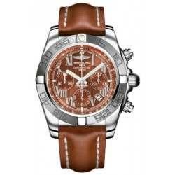 Breitling Chronomat 44 (Polished & Satin) Caliber 01 Automatic Chronograph AB011011.Q566.433X