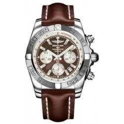 Breitling Chronomat 44 (Polished & Satin) Caliber 01 Automatic Chronograph AB011011.Q575.437X