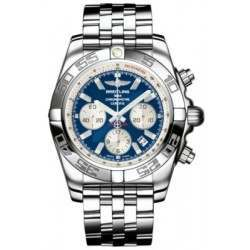 Breitling Chronomat 44 (Polished) Caliber 01 Automatic Chronograph AB011012.C788.375A