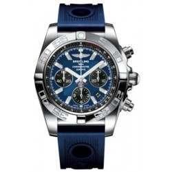 Breitling Chronomat 44 Polished Caliber 01 Automatic Chronograph AB011012C789211S