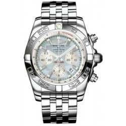 Breitling Chronomat 44 (Polished) Caliber 01 Automatic Chronograph AB011012.G685.375A