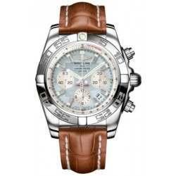 Breitling Chronomat 44 (Polished) Caliber 01 Automatic Chronograph AB011012.G685.737P