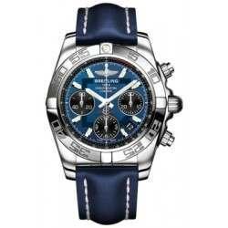 Breitling Chronomat 41 Steel Caliber 01 Automatic Chronograph AB014012C830113X