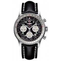 Breitling Navitimer Cosmonaute Caliber 02 Hand Wound Mechanical Chronograph AB021012.BB59.435X