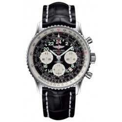 Breitling Navitimer Cosmonaute Caliber 02 Hand Wound Mechanical Chronograph AB021012.BB59.743P