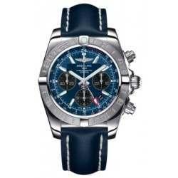 Breitling Chronomat 44 GMT Steel Caliber 04 Automatic Chronograph AB042011C852105X