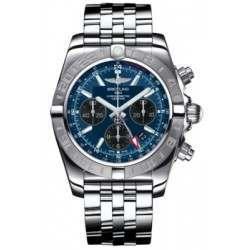 Breitling Chronomat 44 GMT Steel Caliber 04 Automatic Chronograph AB042011C852375A