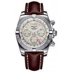 Breitling Chronomat 44 GMT (Steel) Caliber 04 Automatic Chronograph AB042011.G745.437X