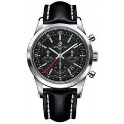 Breitling Transocean Chronograph GMT Caliber 01 Automatic AB045112.BC67.435X