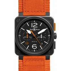 Bell & Ross BR 03-94 Carbon Orange Limited Edition BR0394-O-CA