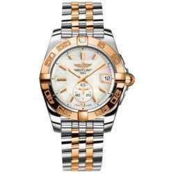 Breitling Galactic 36 (Steel & Rose Gold) Caliber 37 Automatic C3733012.A724.376C