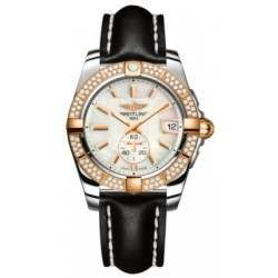 Breitling Galactic 36 (Steel & Rose Gold/ Diamonds) Caliber 37 Automatic C3733053.A724.414X