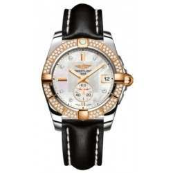 Breitling Galactic 36 (Steel & Rose Gold/ Diamonds) Caliber 37 Automatic C3733053.A725.414X