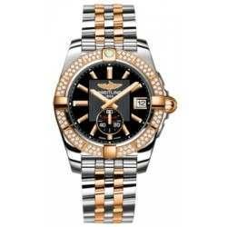 Breitling Galactic 36 (Steel & Rose Gold/ Diamonds) Caliber 37 Automatic C3733053.BA54.376C