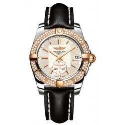 Breitling Galactic 36 (Steel & Rose Gold/ Diamonds) Caliber 37 Automatic C3733053.G714.414X