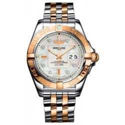 Breitling Galactic 41 (Steel & Rose Gold) Caliber 49 Automatic C49350L2.A706.366C