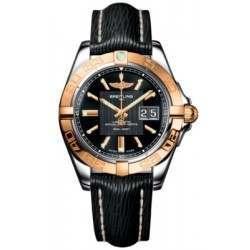 Breitling Galactic 41 (Steel & Rose Gold) Caliber 49 Automatic C49350L2.BA09.218X