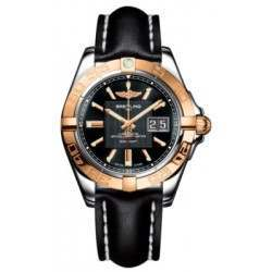 Breitling Galactic 41 (Steel & Rose Gold) Caliber 49 Automatic C49350L2.BA09.428X