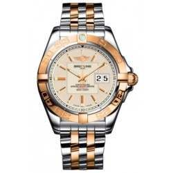 Breitling Galactic 41 (Steel & Rose Gold) Caliber 49 Automatic C49350L2.G701.366C