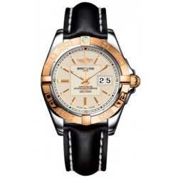 Breitling Galactic 41 (Steel & Rose Gold) Caliber 49 Automatic C49350L2.G701.428X