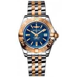 Breitling Galactic 32 (Steel & Rose Gold) Caliber 71 Quartz C71356L2.C813.367C
