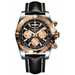 Breitling Chronomat 44 (Steel & Gold) Caliber 01 Automatic Chronograph CB011012.B968.435X