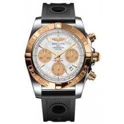 Breitling Chronomat 41 (Steel & Gold) Caliber 01 Automatic Chronograph CB014012.A722.202S