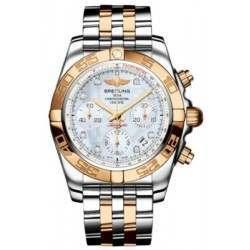 Breitling Chronomat 41 (Steel & Gold) Caliber 01 Automatic Chronograph CB014012.A723.378C