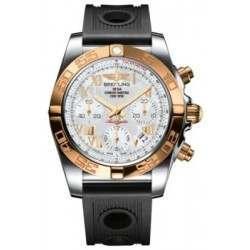 Breitling Chronomat 41 (Steel & Gold) Caliber 01 Automatic Chronograph CB014012.A748.202S
