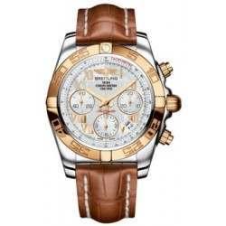 Breitling Chronomat 41 (Steel & Gold) Caliber 01 Automatic Chronograph CB014012.A748.722P
