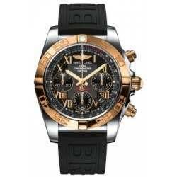 Breitling Chronomat 41 (Steel & Gold) Caliber 01 Automatic Chronograph CB014012.BC08.150S