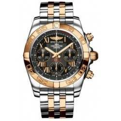 Breitling Chronomat 41 Steel  Gold Caliber 01 Automatic Chronograph CB014012BC08378C