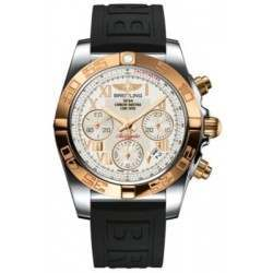 Breitling Chronomat 41 Steel  Gold Caliber 01 Automatic Chronograph CB014012G759150S