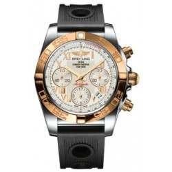 Breitling Chronomat 41 (Steel & Gold) Caliber 01 Automatic Chronograph CB014012.G759.202S