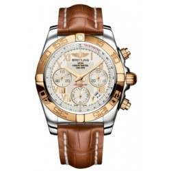 Breitling Chronomat 41 (Steel & Gold) Caliber 01 Automatic Chronograph CB014012.G759.722P