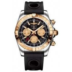 Breitling Chronomat 44 GMT (Steel & Rose Gold) Caliber 05 Automatic Chronograph CB042012.BB86.200S